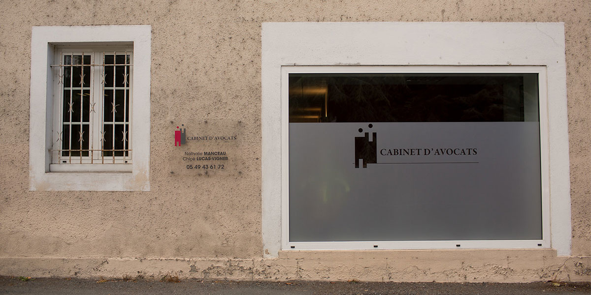 Facade du cabinet - Manceau Lucas